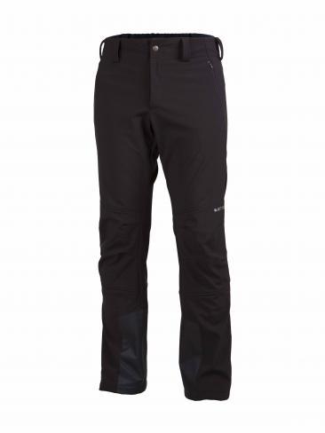 Attiq Pánské trekingové kalhoty Softshell-Pantalon-Men-Black
