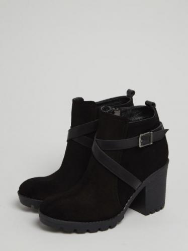 Onouqo Dámské kotníčkové boty ONQ1054_BLACK