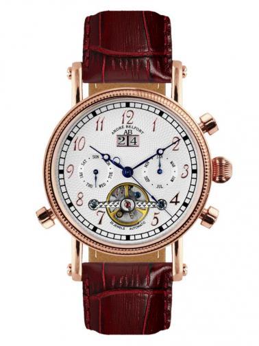 André Belfort Pánské automatické hodinky Nouvelle Renaissance rosegold silber