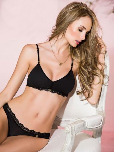 Adriana Arango Dámská tanga H005_Black