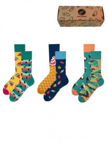Many Mornings Ponožky, 3 ks MM_3_007