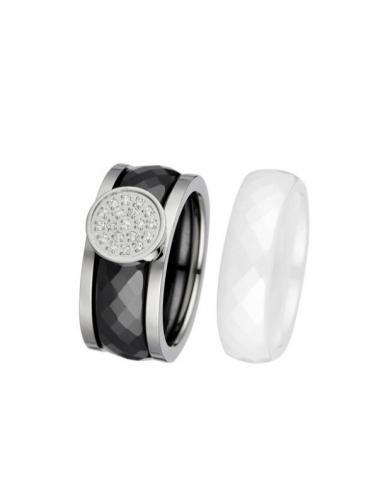CERAM by Art de France Dámský prsten R603034-WB