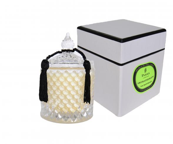 Parks London Luxusní svíčka svůní limetky, bazalky a mandarinky CR2