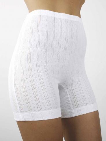 AB Tricot Dámské kalhotky RDM 006 W SHORTY WHITE SET OF 2 (2 kusy)