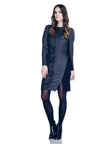 Natali Silhouette Dámské šaty NS14AW982004-991S_Patterned