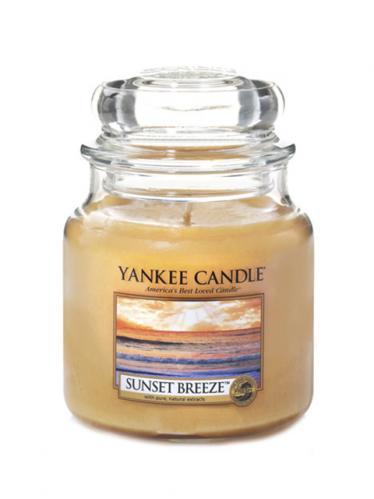 Yankee candle Svíčka ve skleněné dóze - Vánek při západu slunce 856119