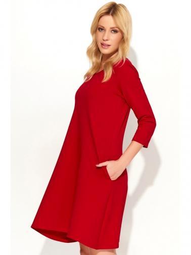 Makadamia Dámské šaty m375_red
