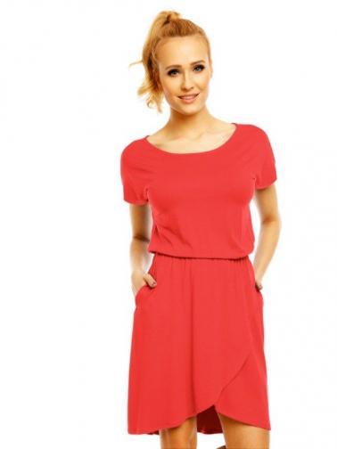 Lental Dámské šaty DRESS GRACE 1-4 CORAL