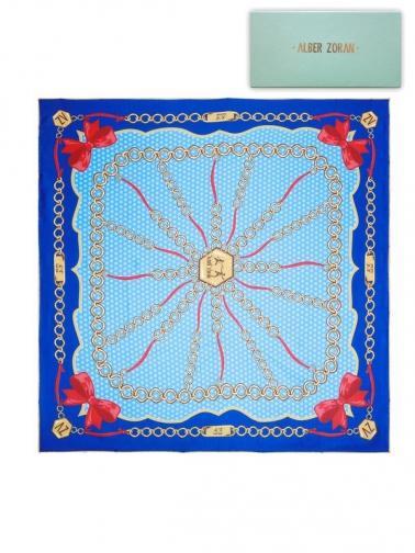 Alber Zoran Dámský šátek RIBBONS_BLUE
