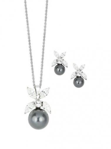 Crystal star Sada šperků ST3872-BK