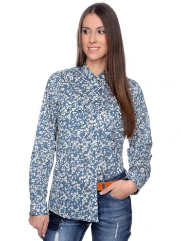 s.Oliver Dámská košile 113653_502ca modrá