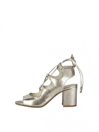 Made in Italia Sandály na podpatku CAROLA_PLATINO