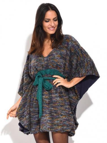Baba Design Dámské šaty 6687-W6BBD20-BLU