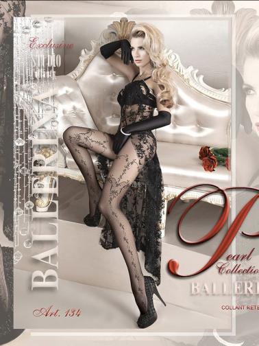 Ballerina Dámské punčocháče 134-TIGHTS-BLACK