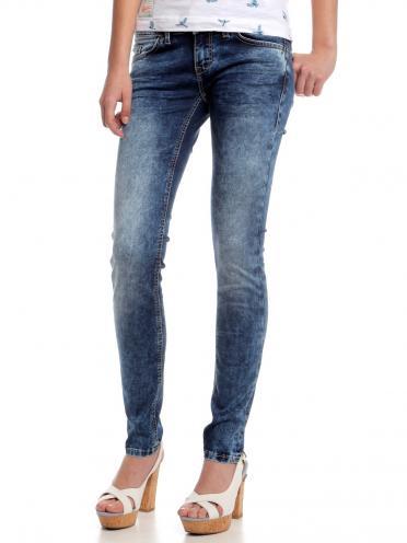 Mustang Dámské džíny Gina Jeggins 3598_5400_ss15 modrá