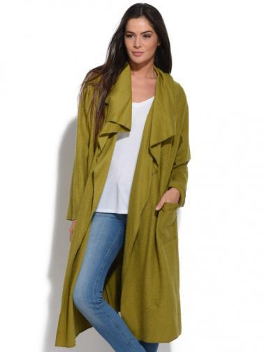 Bella Blue Dámský kabát A4-H2185 VERT
