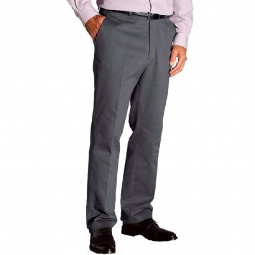 Blancheporte Kalhoty bavlna/elastan, džínový střih šedá
