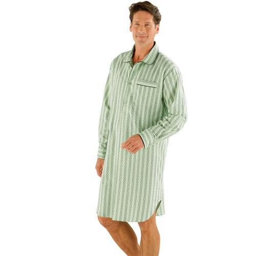 Blancheporte Pánská noční košile, flanel zelená