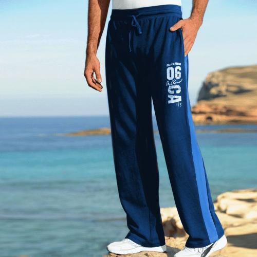 Blancheporte Sportovní kalhoty námořnická modrá