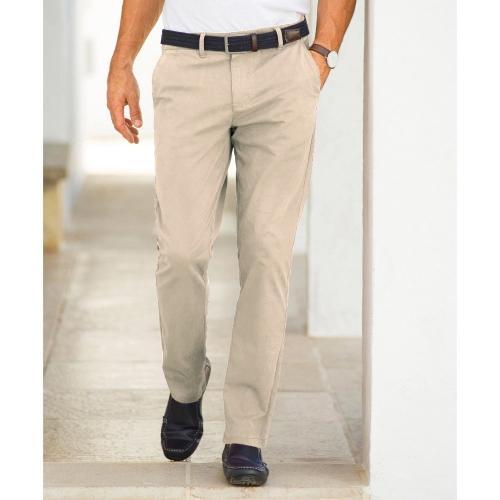 Blancheporte Chino kalhoty béžová
