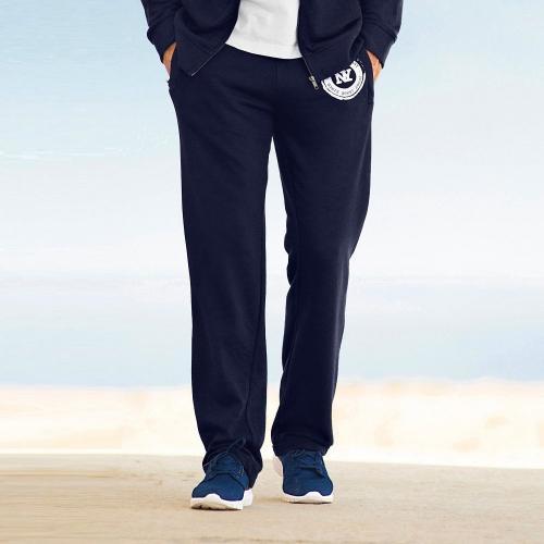 Blancheporte Sportovní kalhoty melton nám.modrá