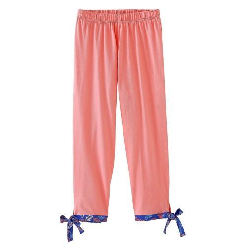 Blancheporte 3/4 pyžamové kalhoty s potiskem korálová