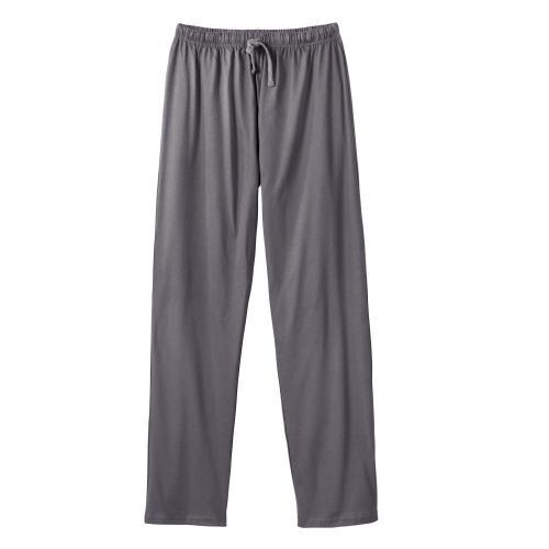 Blancheporte Jednobarevné pyžamové kalhoty antracitová