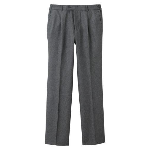 Blancheporte Flanelové kalhoty, pružný pas šedá