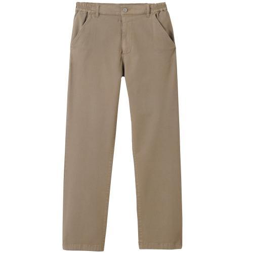 Blancheporte Rovné kalhoty s klínovými kapsami kaštanová