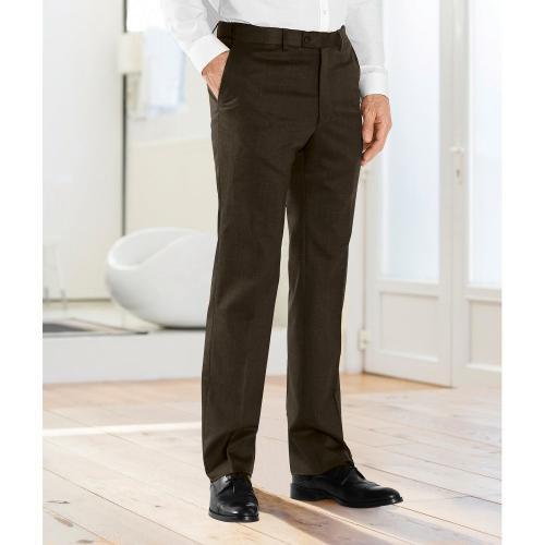 Blancheporte Kalhoty s upravitelným pasem oříšková
