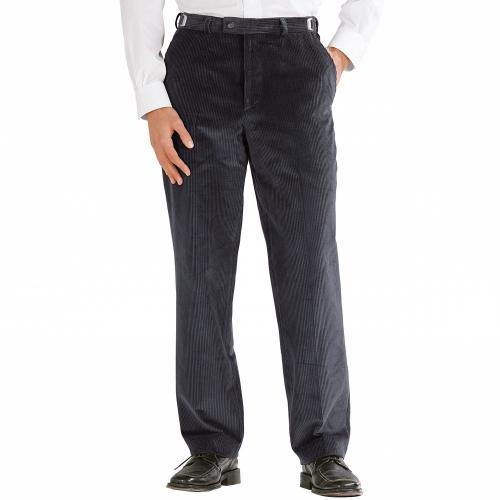 Blancheporte Manšestrové kalhoty, nastavitelný pas šedá