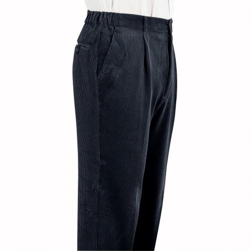 Blancheporte Manšestrové kalhoty, pružný pas šedá