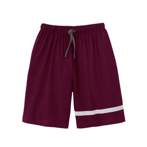 Blancheporte Jednobarevné pyžamové šortky černý rybíz
