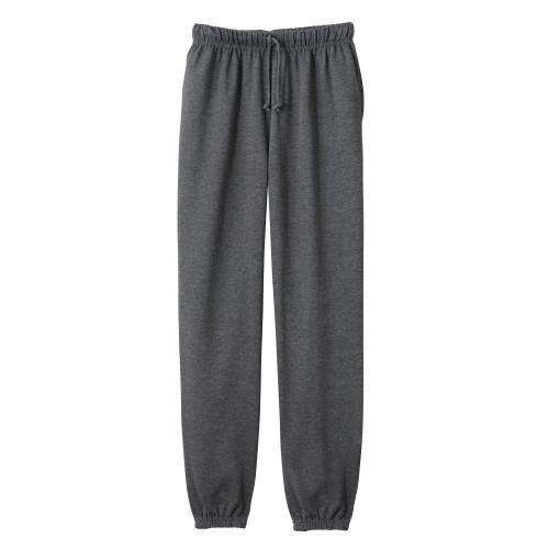 Blancheporte Meltonové kalhoty, pružný spodní lem antracitová