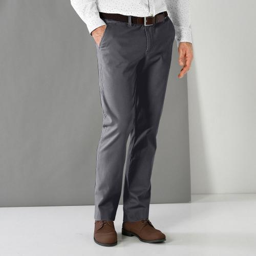 Blancheporte Gabardénové chino kalhoty antracitová