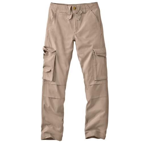 Blancheporte Kalhoty s kapsami, vojenský vzor béžová