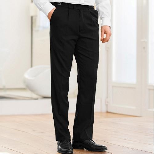 Blancheporte Kalhoty, 100% polyester, 2x1 sámek černá