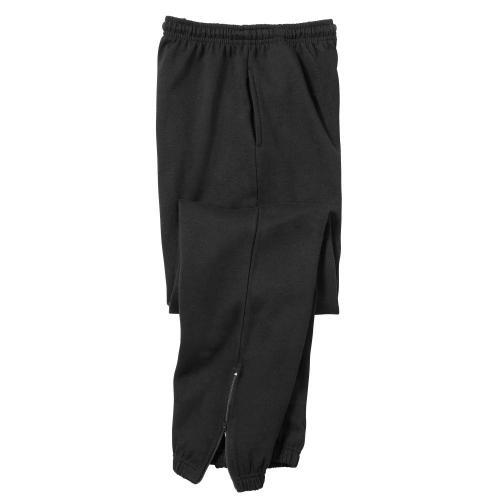 Blancheporte Joggingové kalhoty, melton černá