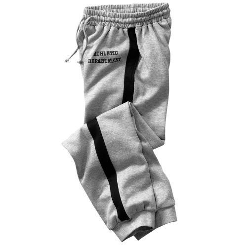 Blancheporte Meltonové sportovní kalhoty šedý melír