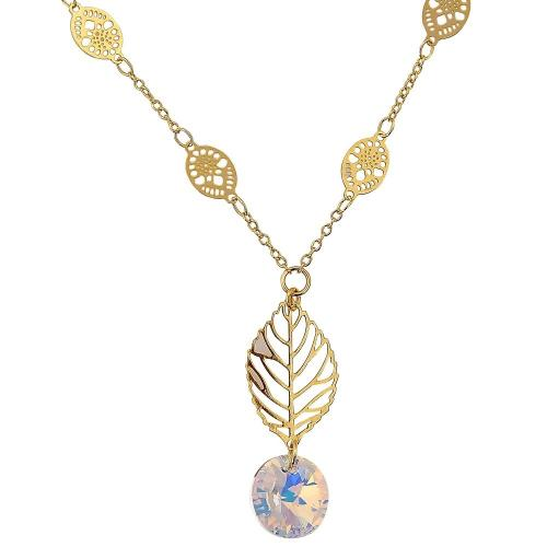 """Blancheporte Pozlacený náhrdelník se """"SWAROVSKI ELEMENTS"""""""