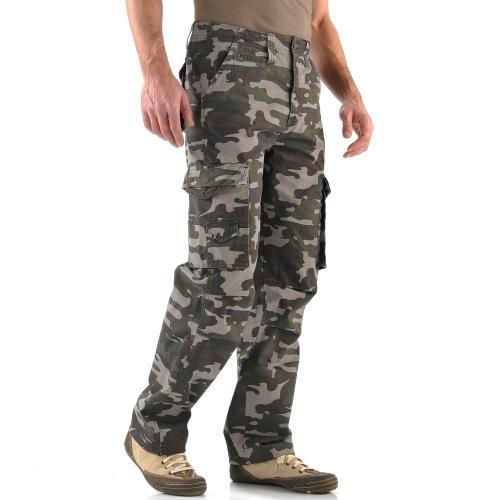 Blancheporte Kalhoty s kapsami, vojenský vzor vojenský vzor