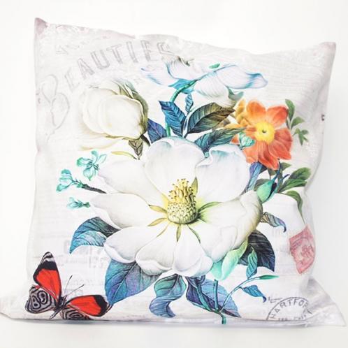 Povlak na polštářek Beauty Flowers 42x42 cm Polyester
