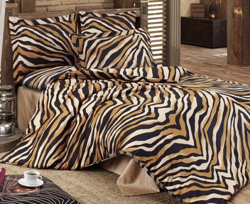Povlečení Bengál Jednolůžko - standard, přikrývka: 1ks 140x200 cm, polštář: 1ks 90x70 cm Bavlna