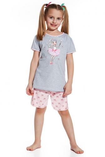 Dívčí pyžamko Magic 98/104 šedorůžová
