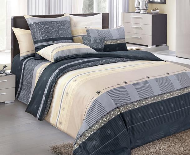 Povlečení Michael Jednolůžko - standard, přikrývka: 1ks 140x200 cm, polštář: 1ks 90x70 cm, gramáž: 115 g/m2 bavlna