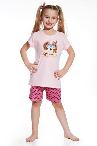 Dívčí pyžamko Summer 110/116 růžová