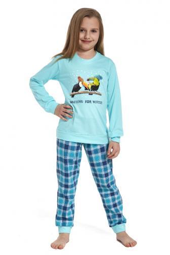 Dívčí pyžamo Toucan 110/116  modrá
