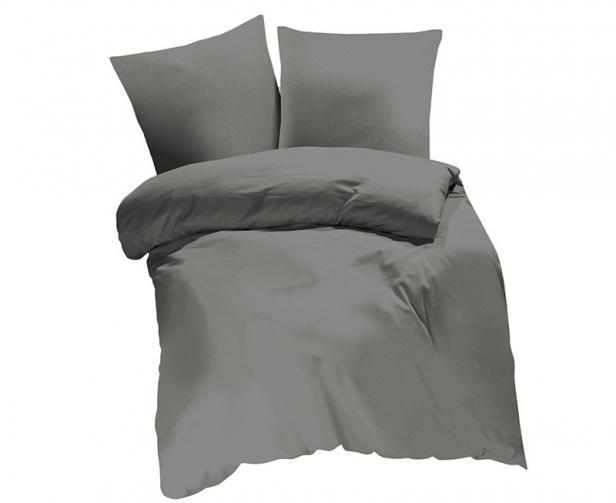 Povlečení UNI béžovošedé Jednolůžko - standard, přikrývka: 1ks 140x200 cm, polštář: 1ks 90x70 cm, gramáž: 118 g/m2 bavlna