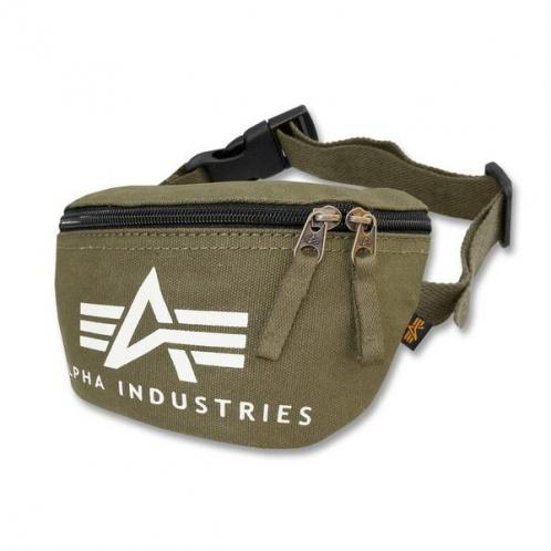 Alpha Industries Big A Canvas Waist Bag