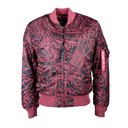 Alpha Industries MA-1 VF Tonga Bomber Bunda Burgundy
